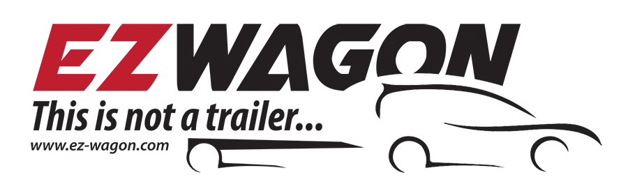 EZ Wagon - Tuck-A-Way Technology Wagon & Trailer - Aluminum, lightweight trailer, tuck-a-way, compact,  This is not a Trailer...